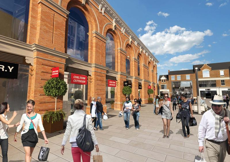 Modern extensions to the Corn Exchange will be demolished, allowing views of the new facades from the High Street.