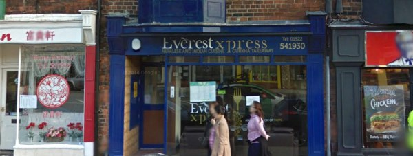 The Everest Xpress takeaway on Lincoln High Street. Photo: Google Street View