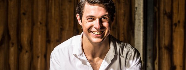 George Grant from Lincoln, Britain's sexiest farmer. Photo: Farmers Weekly