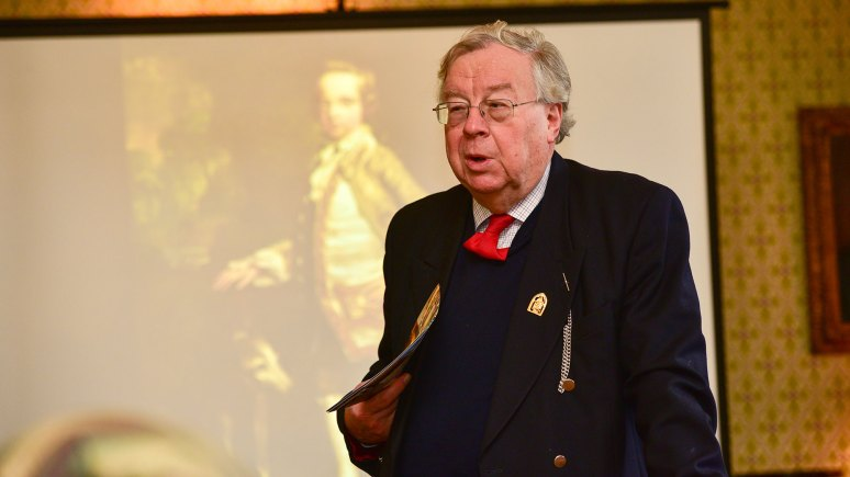 Lord Patrick Cormack, Chairman of the Historic Lincoln Trust. Photo: Steve Smailes for The Lincolnite