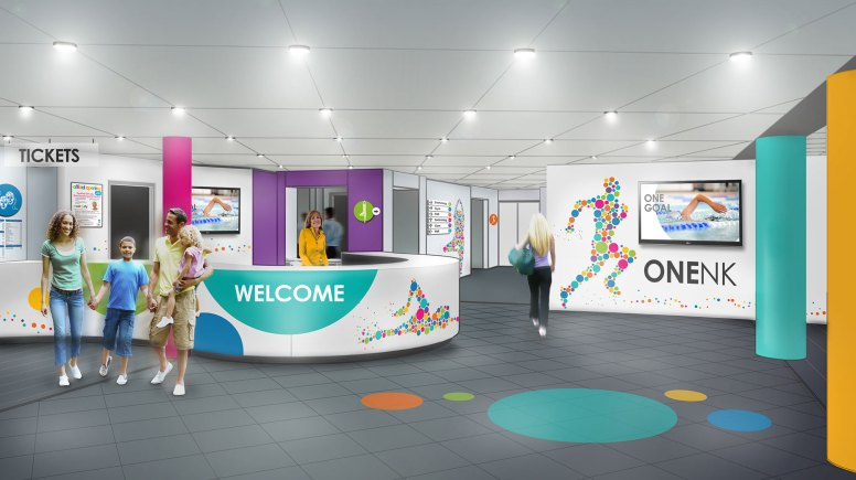 An idea how how the One NK reception area will look. Artist's Impression: NKDC