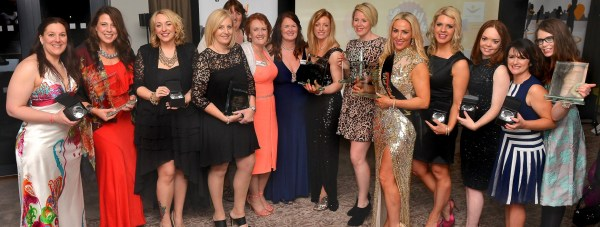All of the winners and runners up of the Angels Bring Business Awards. Photo: Mick Fox