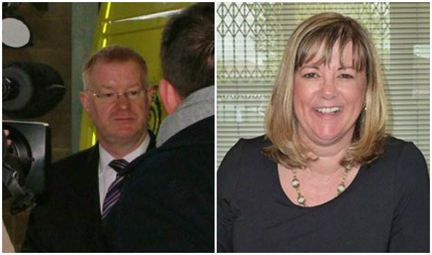On Jon Towler's (L) departure, Sue Noyes (R) was appointed to lead the organisation.