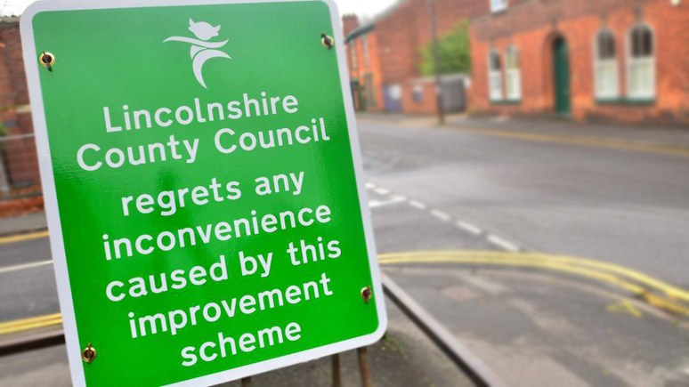 Five months of road works on Canwick Road in Lincoln will come to a close in 10 weeks time.