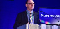 Stuart McFarlane opening the conference. Photo: Steve Smailes - The Lincolnite