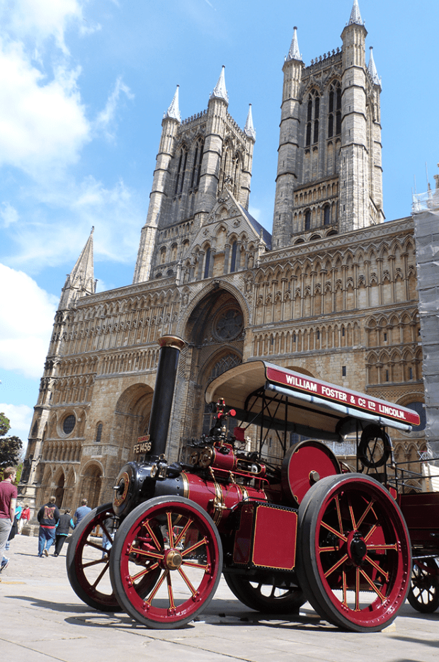William Foster 1913 steam engine at the festival in 2013