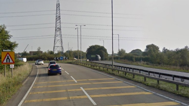 The A46 looking towards Pennells roundabout. Photo: Google Maps