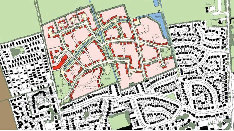 The development will create 87 new affordable homes in the village
