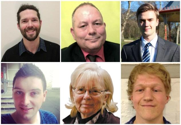 Abbey ward candidates.