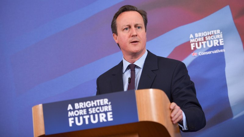 Prime Minister David Cameron. Photo: Steve Smailes for The Lincolnite