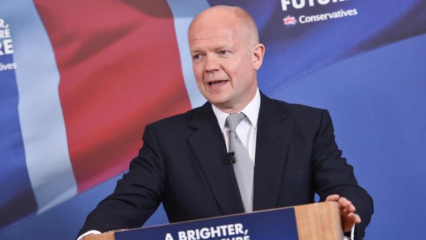 William Hague. Photo: Steve Smailes for The Lincolnite