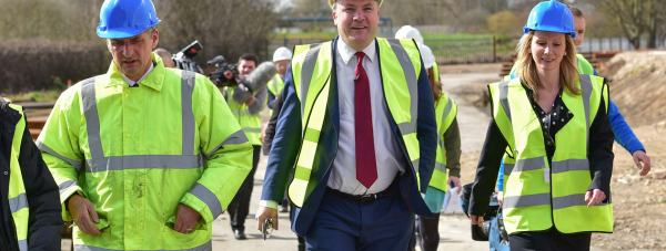 Ed Balls announced that Labour would scrap the role of Police and Crime Commissioners on a visit to Lincoln. Photo: Steve Smailes for The Lincolnite