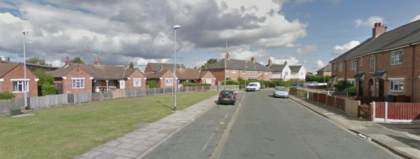 Moorland Crescent in Lincoln. Photo: Google Street View