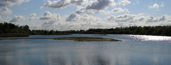 Grebe Lake, Whisby Nature Park, Nr. Lincoln A former gravel quarry, now a spectacular nature reserve with a series of lakes