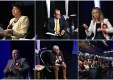 Candidates lincoln debateCollage