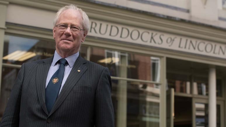 Henry Ruddock, owner of Ruddocks of Lincoln