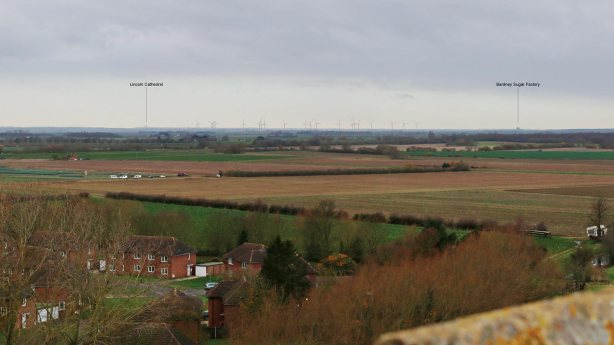 The Nocton Fen plans from Tattershall Castle. Photo: Vattenfall