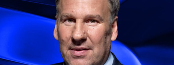 Football star and TV presenter Paul Merson.