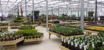 The new extension for Pennells Garden Centre