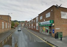 The assault took place outside the Select and Save shop on Baggholme Road. Photo: Google Street View