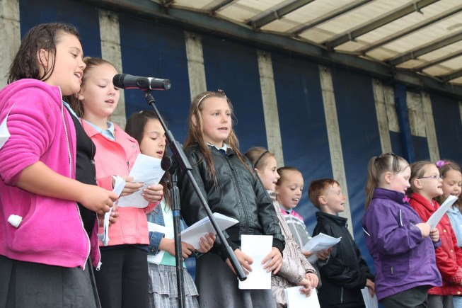 Choir from Priory Witham. Photo: Linkage