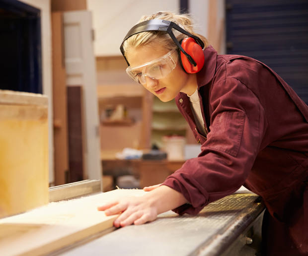 Carpentry and joining training will be available to the next generation of skilled workers. Photo: Stuart Wilde