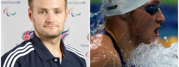 British Paralympic swimmer James Crisp. Photo: Paralympics GB