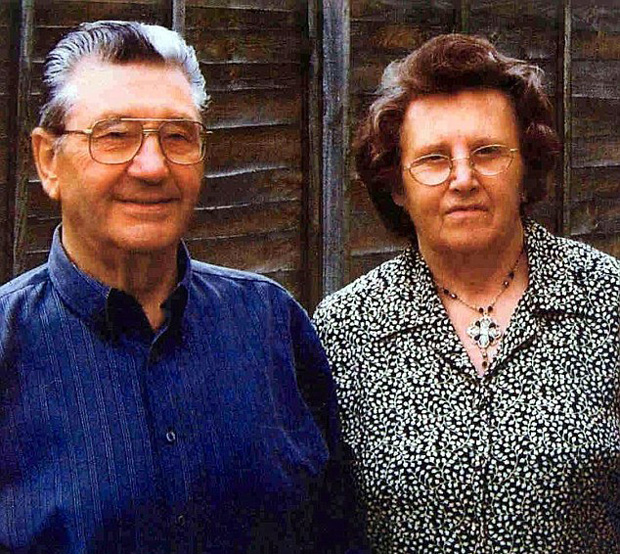 Robert and Elsie Crook, who were murdered in their home. Photo: Wiltshire Police