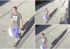 Police are looking for the man pictured, who may be able to help with their enquiries. Photo: Lincolnshire Police