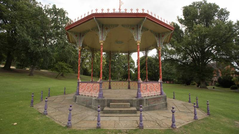 The Bandstand at Lincoln Arboretum. Photo: Steve Smailes for The Lincolnite