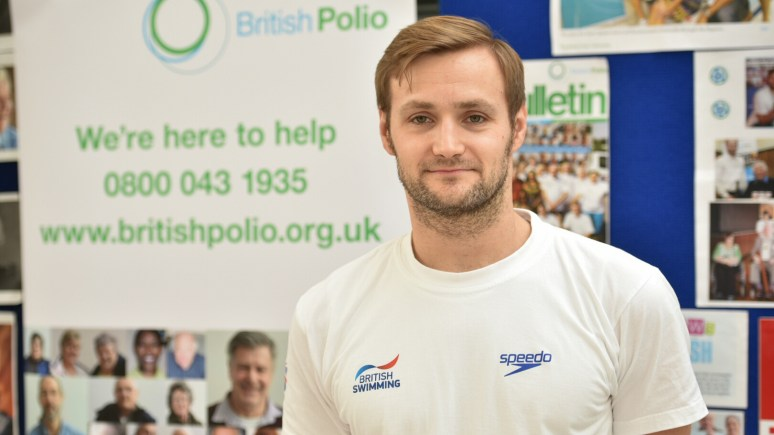 Paralympic swimmer James Crisp. Photo: Steve Smailes for The Lincolnite