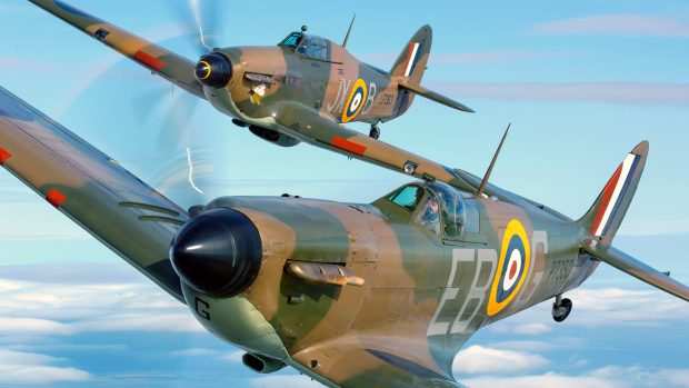 The mosaic celebrates the 75th anniversary of the Battle of Britain