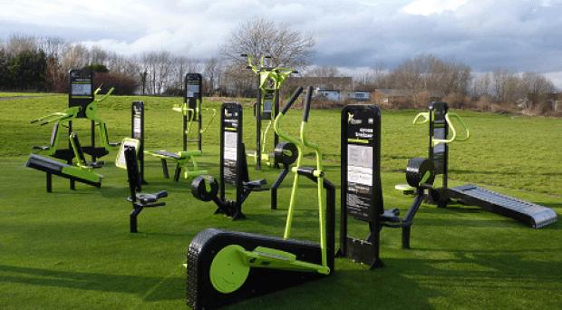 The Parklands outdoor gym