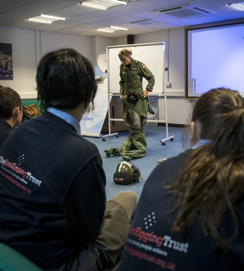 Typhoon pilot in Communications session