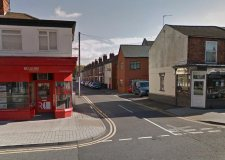 The High Street / Shakespeare Street junction in Lincoln. Photo: Google Street View