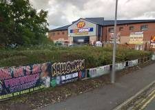 JTF Discount Warehouse in Lincoln. Photo: Google Street View
