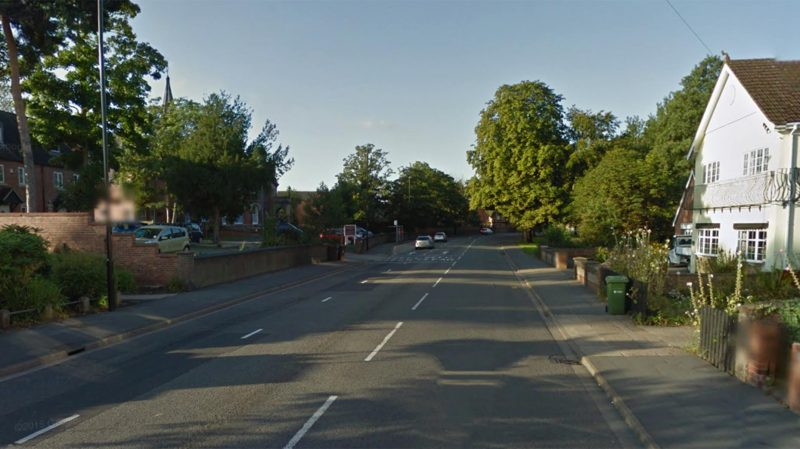 The crash happened on Newark Road in Lincoln. Photo: Google Street View.
