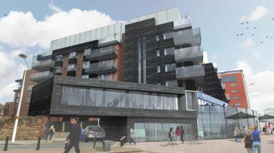 Visuals of 'One the Brayford': Stem Architects Ltd