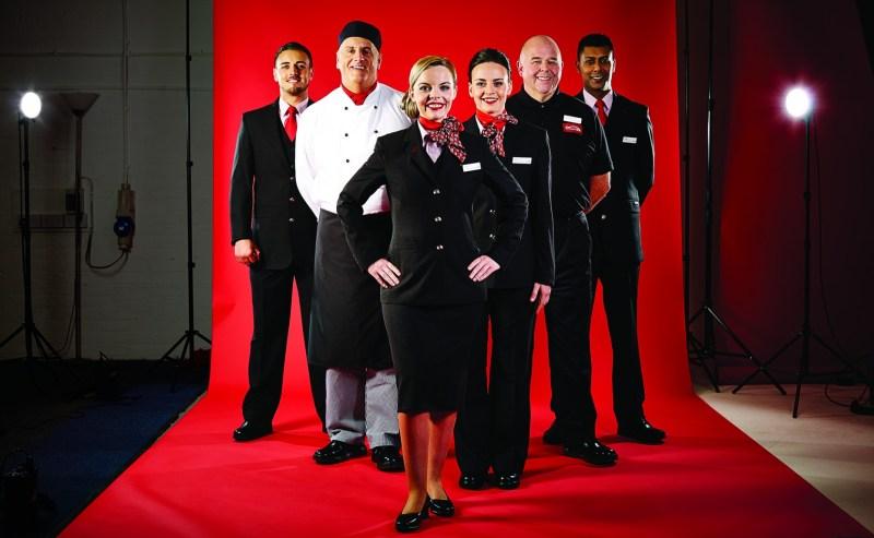 Virgin Trains East Coast new uniform.