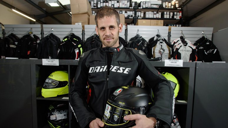 James Mitchell has shaped SportsBikeShop into the perfect form. Photo: Steve Smailes