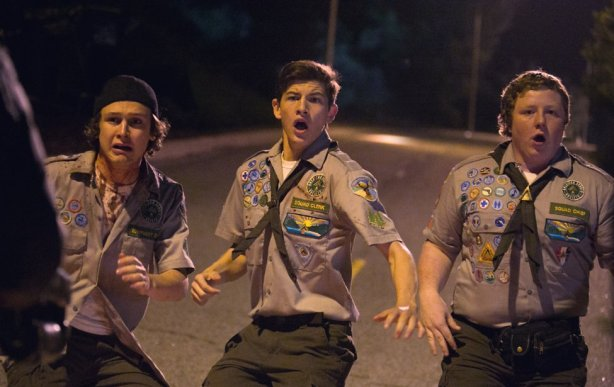 Logan Miller, Tye Sheridan and Joey Morgan in Scouts Guide to the Zombie Apocalypse. Photo by Jaimie Trueblood and Paramount Pictures