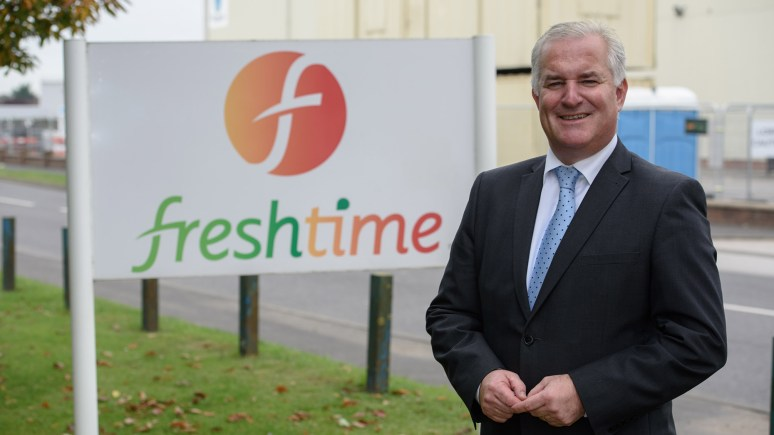 Mark Newton, Managing Director of Freshtime. Photo: Steve Smailes
