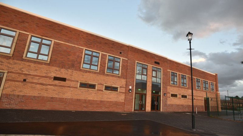 The new £1.1 million Keyworth Centre off Skellingthorpe Road in Lincoln.