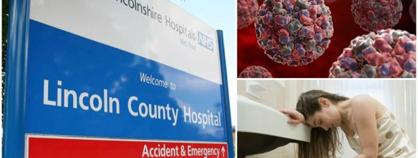 People are being warned not to visit Lincoln County Hospital.