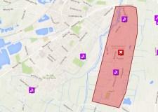 People in Bracebridge Heath and Waddington are affected.