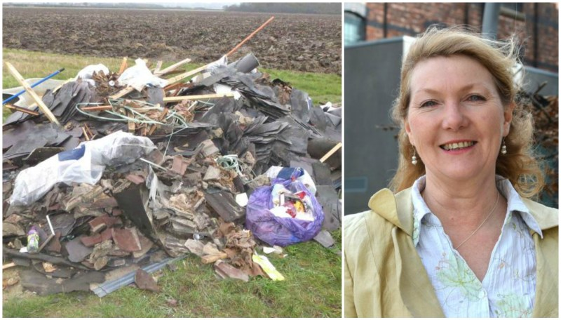 "Leader of the Lincolnshire Independents Marianne Overton said the closure of the sites would be ""perverse"" and lead to an increase in fly-tipping."