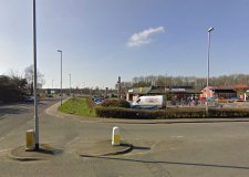 Four men and two women were arrested on the A151 Holbeach Road near to the A16 junction at McDonalds in Spalding.