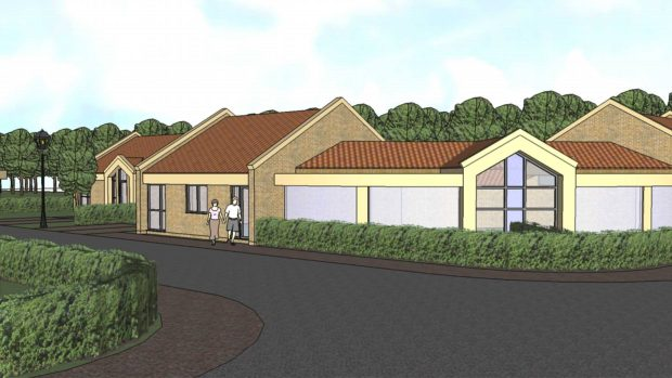 Plans for the bungalows. Photo: John Halton Design Ltd