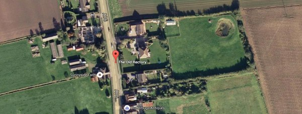 The Rectory Care Home in Stickney near Boston. Map image: Google Earth