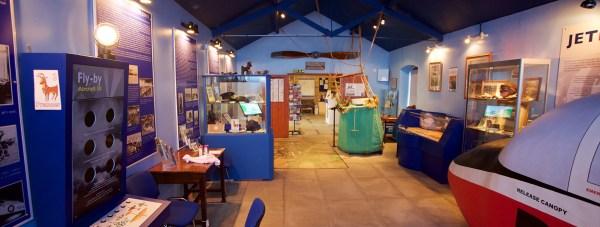 The RAF Cranwell visitors centre.
